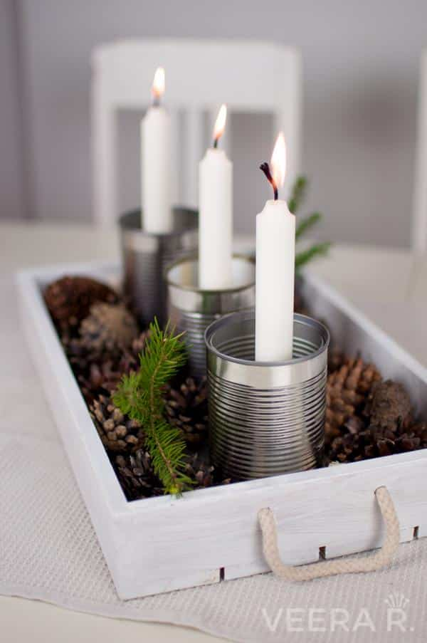 candle holders diy