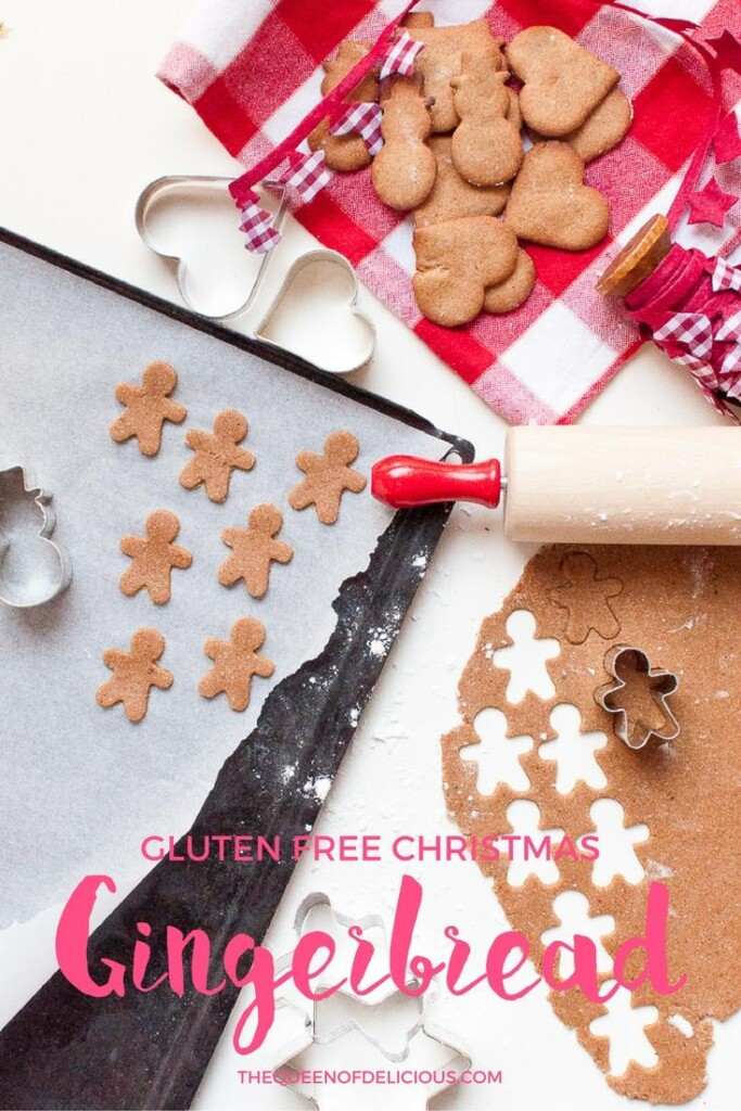 Gluten free Ginger Bread Men | Gluten Free Baking | Refined Sugar Free | Christmas
