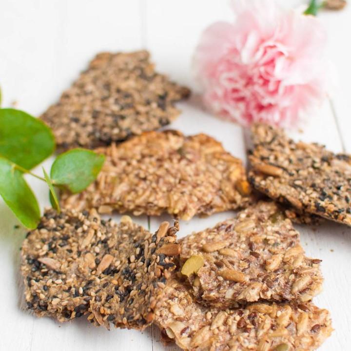 Helppo siemennäkkäri | Gluteeniton leivonta | Vegaaninen resepti