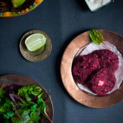 Beetroot Feta Patties