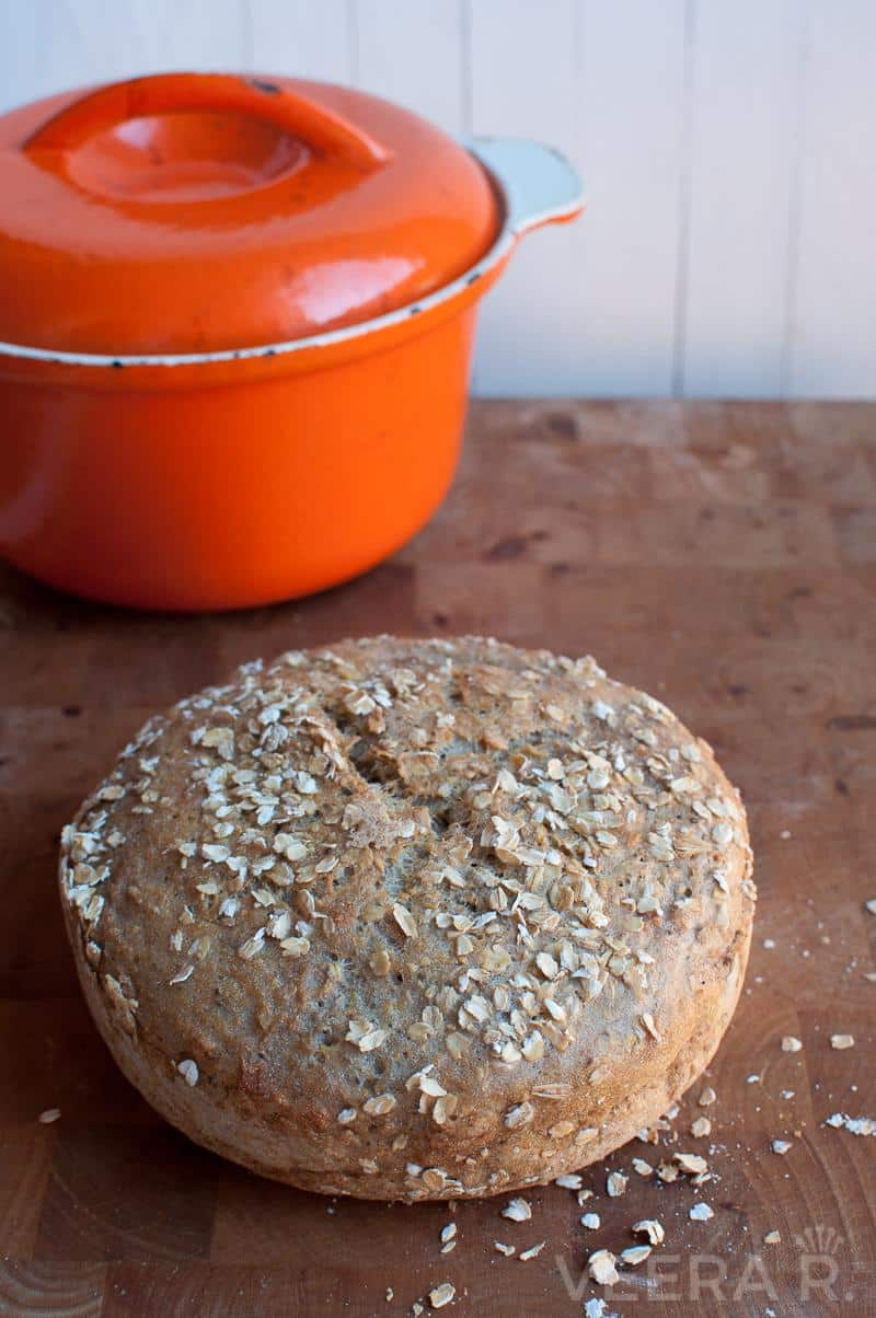 The Best Gluten Free No Knead Bread | The Queen of Delicious