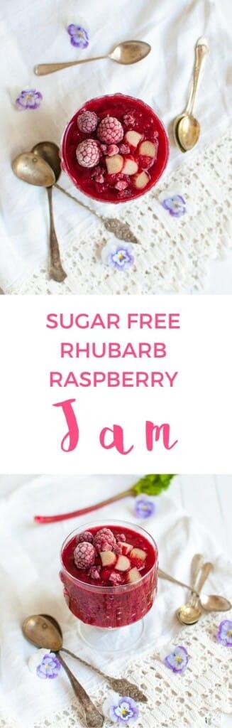 how to make sugar free raspberry jam