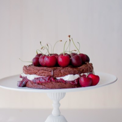 Sugar and Gluten Free Black Forest Cake