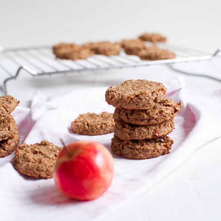 Omenapiirakkakeksit | Gluteeniton leivonta | Sokeriton leivonta | Vegaaninen leivonta