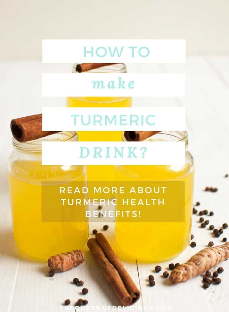 Turmeric Ginger Tea with Lemon