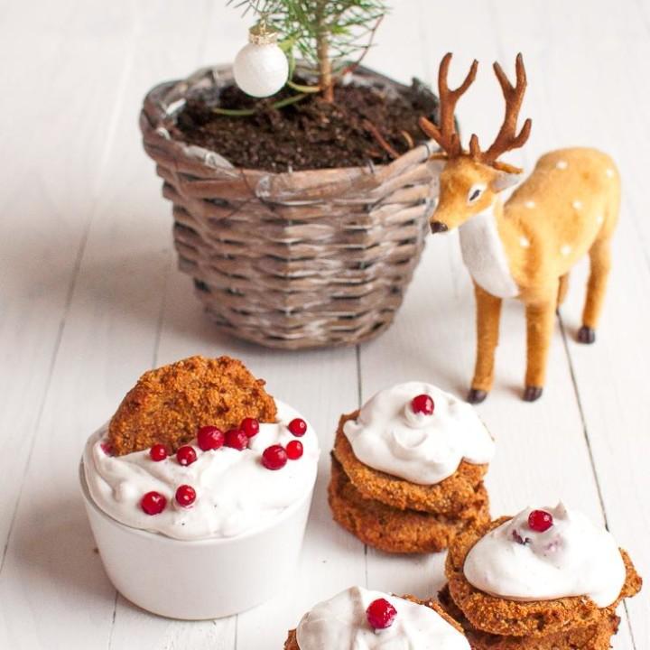 Grain-free Christmas Cookies | Vegan | Gluten-free baking | Sugar-free baking | Christmas Treat