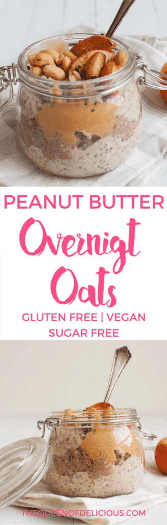 Overnight Oats | Healthy Breakfast | Gluten free | Sugar free | Vegan