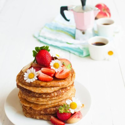 Vegan Oat Pancakes – 4 Ingredients