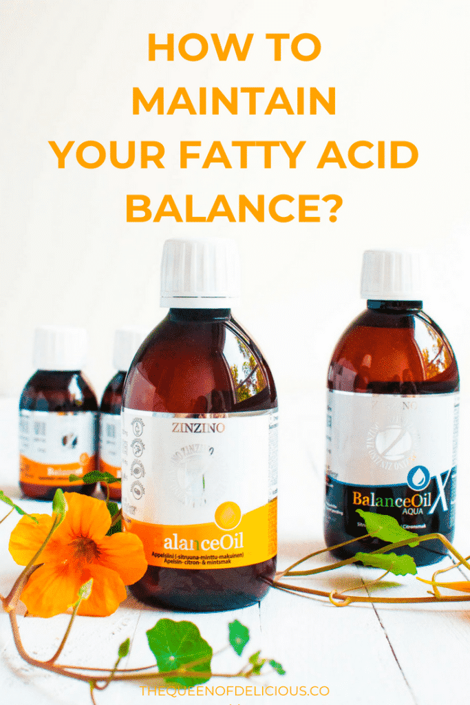 How to Maintain Your Fatty Acid Balance? - Zinzino BalanceOil