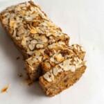 Sokeriton ja gluteeniton porkkana-banaanileipä | Sokeriton leivonta | Gluteeniton leivonnainen | Terveellinen resepti