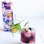 Alkoholiton mustikka-limedrinkki Raikastamon mehusta