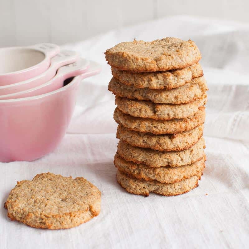 Grain-free Coconut Cookies
