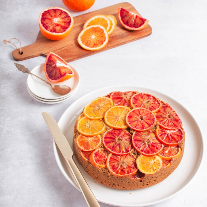 Keikauskakkutyylinen appelsiinikakku