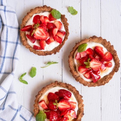 Gluten-Free Strawberry Tarts